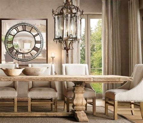 Restoration Hardware Dining Room Tables sala da pranzo provenzale 29 idee stile provenzale