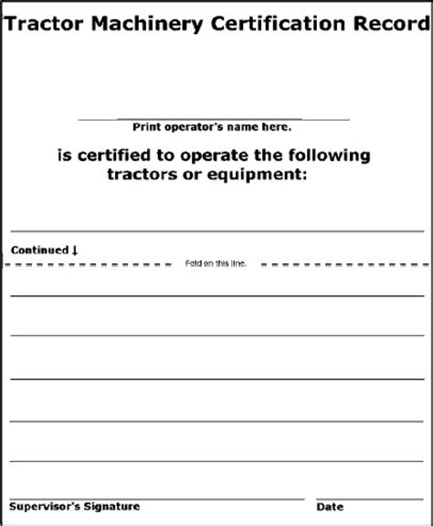 heavy equipment operator card template heavy equipment operator certification requirements the
