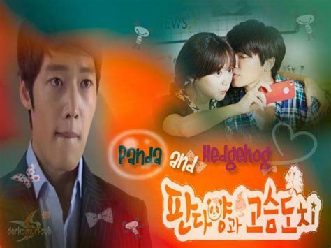 Serial Korea Panda And The Hegdehog 216 best images about dss drama projects on