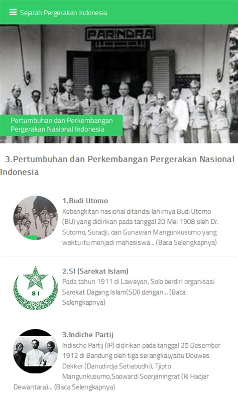 Sejarah Pergerakan Buruh Indonesia 1 sejarah pergerakan indonesia android apps on play