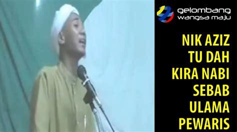 idealis adalah idealis malaysia nik aziz pula diangkat sebagai nabi