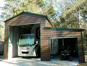 Metal Shelters Garages by Metal Rv Carports Rv Cover Kits Custom Rv Shelters For
