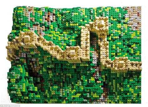 world s most treasures built out of lego for new