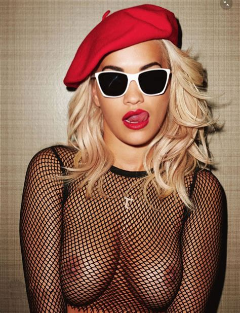 Wow Rita Ora Topless In The Lui Magazine Uncensored
