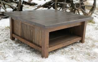 rustic modern coffee tables rustic modern reclaimed coffee table by echopeakdesign on etsy