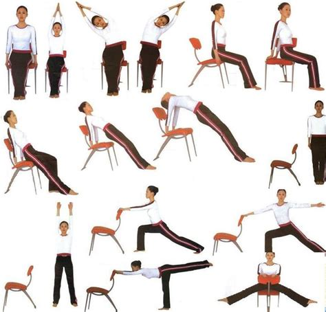 imagenes de yoga en silla m 225 s de 1000 ideas sobre ejercicios de silla en pinterest