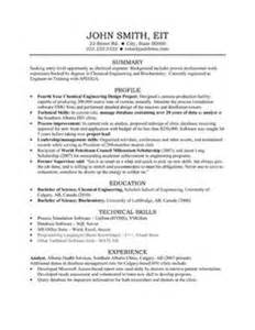 resume exles templates employment education skills
