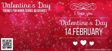valentines themes valentine s day themes for nokia series 40 devices
