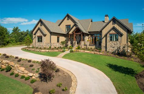 2013 southern living custom builder showcase home rustic exterior other metro by dillard