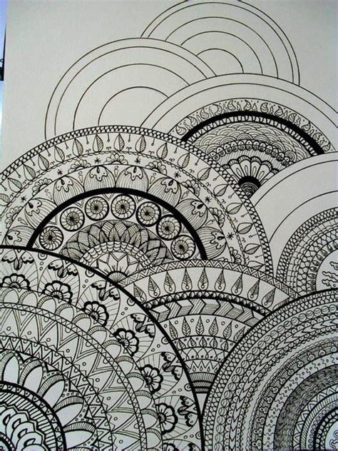 how to draw doodle patterns drawings circles and mandalas on