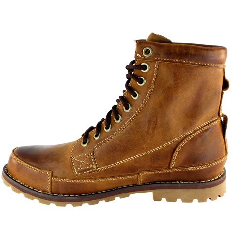 Timberland Leather Original mens timberland eathkeepers original lace up leather