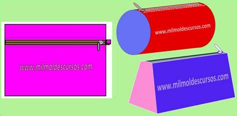 moldes para hacer cartucheras de tela buscar con google moldes gratis de portacosm 233 ticos el taller de mil moldes
