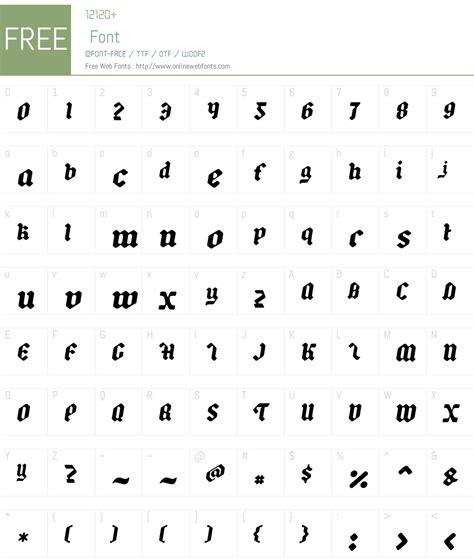 backyard black  italic  fonts