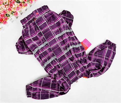 xxs clothes products xxs xxxl large multi color raincoat pet clothes dogs clothes