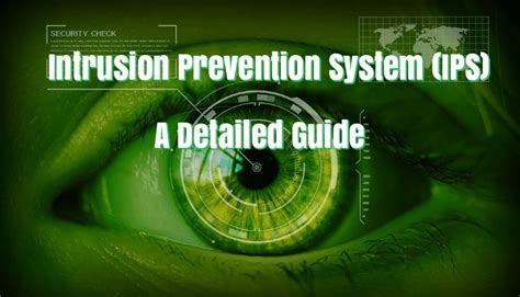 Computer Pci Ktv intrusion prevention system ips and its detailed function