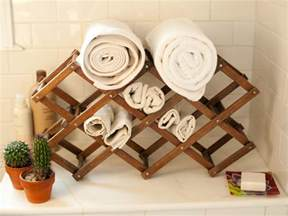 wine rack towel holder photos hgtv