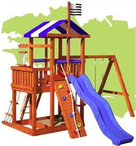 do it yourself swing set kits wood swing set kits easy to build and sturdy