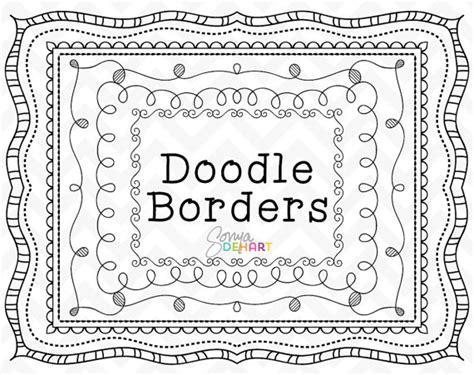 doodle free version doodle clipart doodle frames clipart frames doodle borders