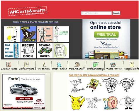 arts and crafts websites for arts craft website help