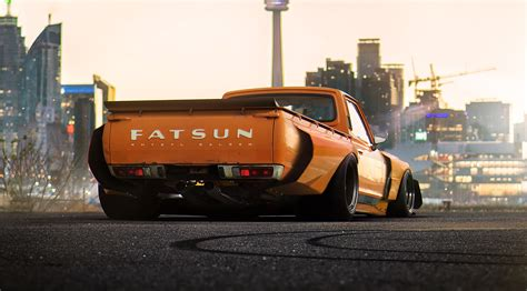 widebody toyota truck a widebody datsun truck will be called fatsun