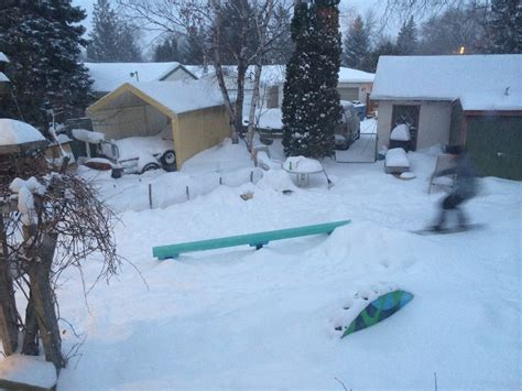 backyard terrain park backyard snowboard park ideas backyard terrain park