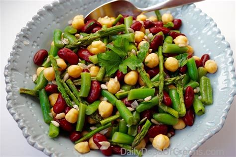 cold salads three bean salad daily dose of greens