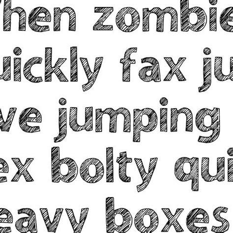 sketchbook font snf sketchbook font