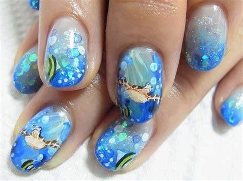 Sea Turtle Nail