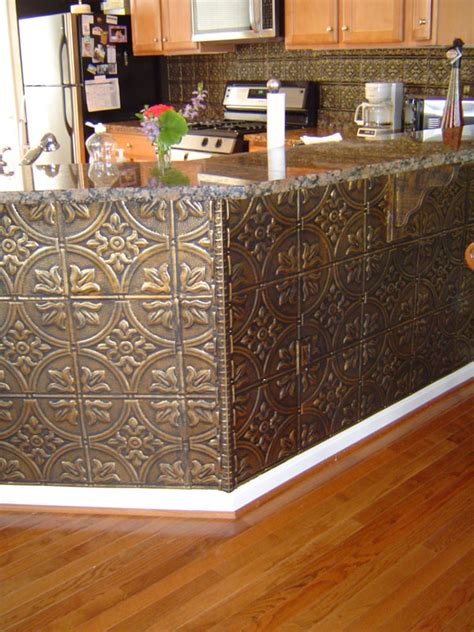 Thermoplastic Panels Kitchen Backsplash the steampunk home tin backsplashes