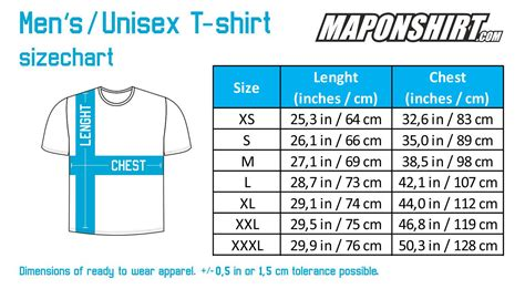 Tshirt Size S by Shirt Size Chart Cm To Inches Sweater