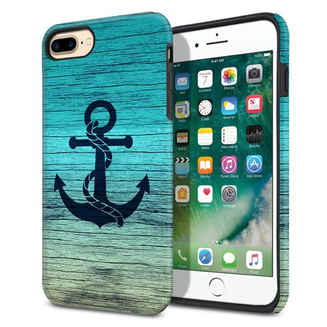 for apple iphone 8 plus iphone 7 plus 5 5 inch hybrid rubber cover ebay