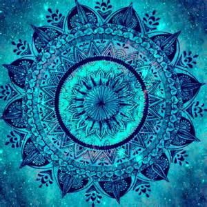 blue mandala turquoise