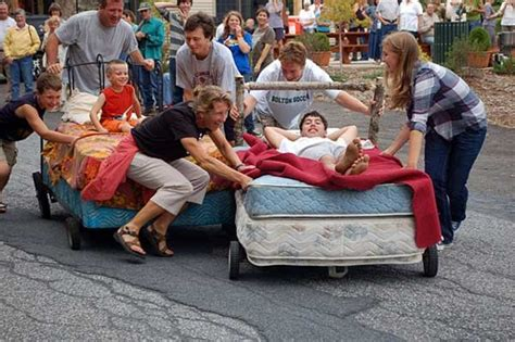 Mattress Race by Rotary To Host Fourth Annual Bed Race Denpubs