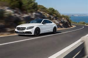 mercedes c class coupe hits the meet 2016 s new amg