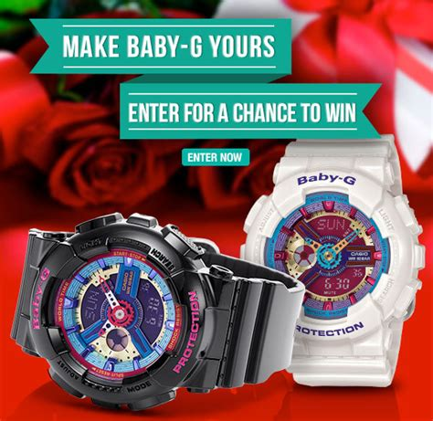Sweepstakes Central Usa - official baby g usa valentine s day sweepstakes expired g central g shock