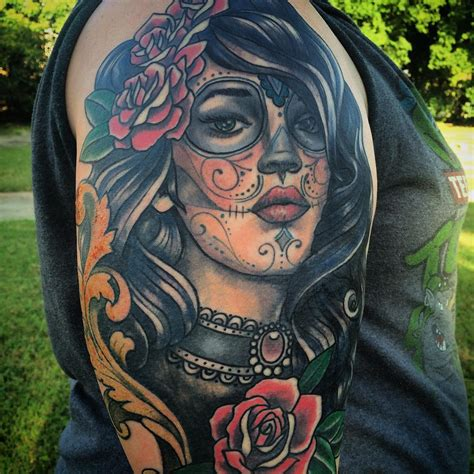 dead girl tattoo designs 90 best day of the dead tattoos designs meanings 2018