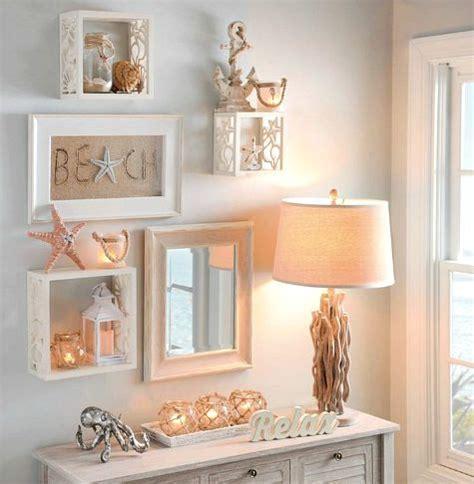 coastal decor wall coastal shell starfish wall cube shelves