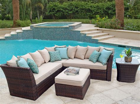 backyard couch antibes resin wicker furniture outdoor patio furniture
