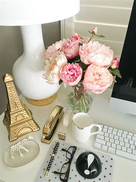 pink office desk accessories 25 best ideas about work desk decor on work