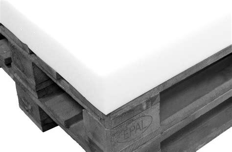 colchon de 80 colch 243 n de espuma blanca 120 x 80 cm paletsonline