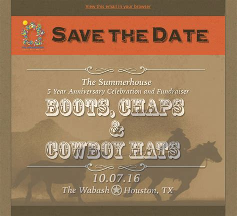 fundraiser save the date card downloadable templates nominate the summerhouse will work for food