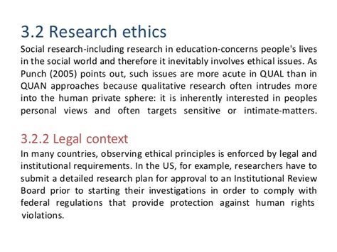 ethics in dissertation thesis ethical considerations