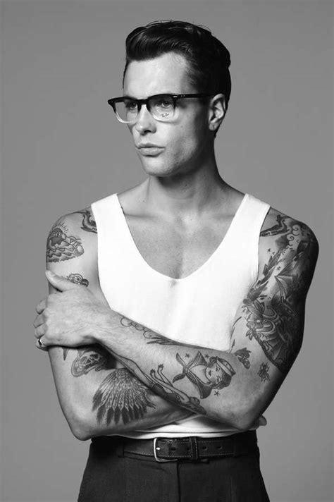 rockabilly tattoos for men badboy rockabilly portraits lewis grant by arnaldo anaya
