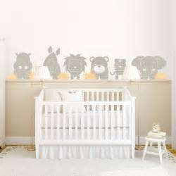 Baby Stickers For Walls Zoo Babies Wall Decal
