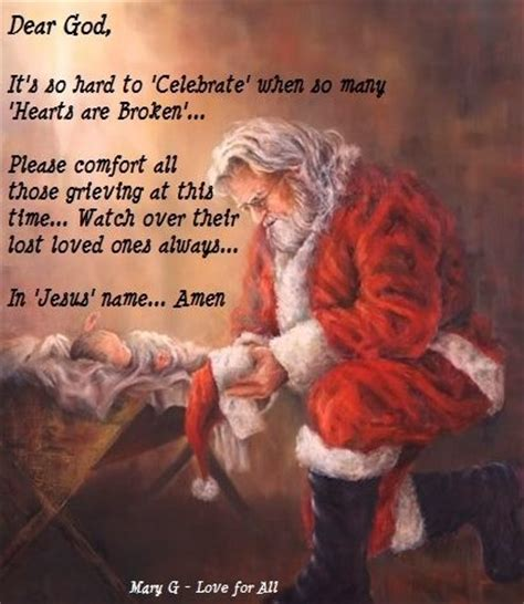 santas prayer christmas quotes dear god prayers