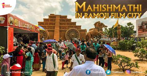 biography of ramoji film city time to relive the epic baahubali s mahishmati kingdom