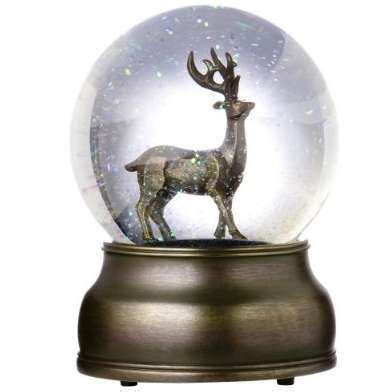 beautiful snow globes beautiful buck snow globe snow globes
