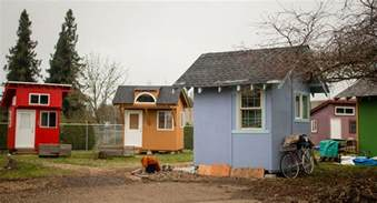 are tiny house villages the solution to homelessness