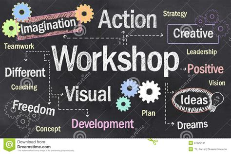 creative workshop creative workshop stock image image 37525181