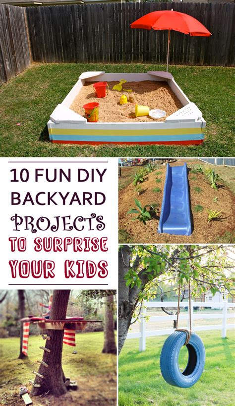 10 diy backyard projects to your